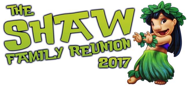 Shaw Family Reunion 2017